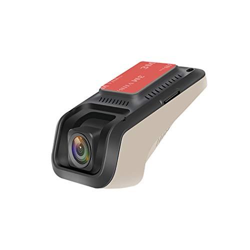 LanPerro Dashcams für Autos, Stealth Full HD 1080P USB-Dash-Kamera 140 Weitwinkel-HDR mit Nachtsicht-Bewegungserkennung und G-Sensor-Loop-Aufnahme