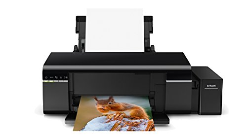 Epson L805 Impresora de inyección de Tinta Color WiFi - Impresora de Tinta (5760 x 1440 dpi, Black, Cyan, Magenta,Yellow, Paper Tray, 37 ppm, 38 ppm, 5 ipm) Ya Disponible en Amazon Dash Replenishment