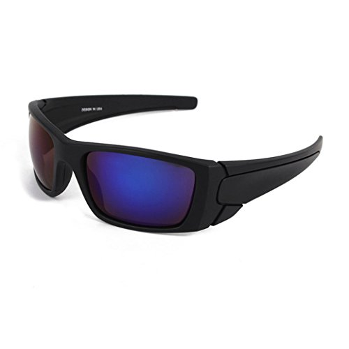 sunshineBoby Herren Sonnenbrillen Radfahren Fahren Reiten Schutzbrille Outdoor Sports Eyewear--Damen und Herren Polarisierte Medium / groß ÜBERBRILLE Das Fit über Brillen. Sonnenüberbrille für Fahrrad (Mehrfarbig A)