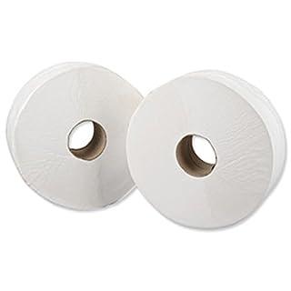 Essentials PR491S3 2-Ply Mini Jumbo Toilet Tissue Roll, 3