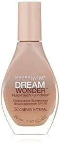 MAYBELLINE Dream Wonder Fluid Touch Foundation - Creamy Natural 50
