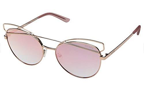 Guess Damen GF6040-5728U Sonnenbrille, Pink (Rosa), 57.0