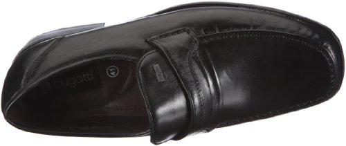 Bugatti - 292761s, Mocassini Uomo Nero (Schwarz)