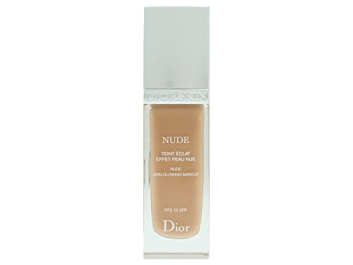 Dior Skin Nude Skin-Glowing Makeup Nr. 040 Honey Beige femme/women, Foundation 30 ml (Lady Dior)