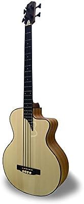 APC BG300 KOA MX CW - Bajo Guitarra acústica - Boca lateral