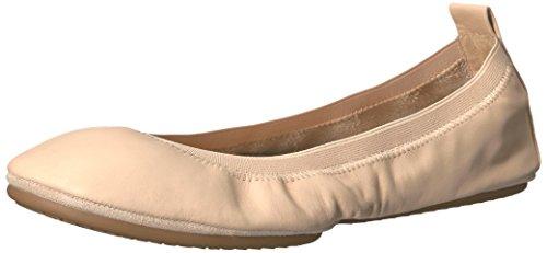 Yosi Samra Damen Samara Flat 2.0 W Geschlossene Ballerinas Beige (Nude)