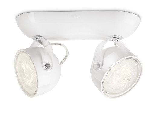 Philips Lighting myLiving Foco LED, iluminación interior LED3, Blanco