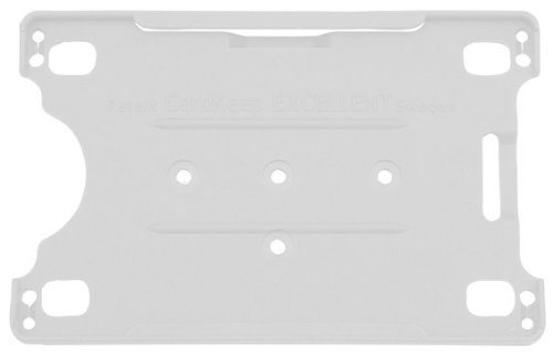 Open cardholder EXCELLENT, White