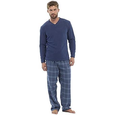 i-smalls Ltd - Pijama - cuello en V - Manga Larga - para hombre
