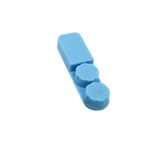 Junecat Tragbarer PP-Material Schublade Typ Kontaktlinsen-Halter im Freien Spielraum Kontaktlinsen Behälter-Aufbewahrungsbehälter