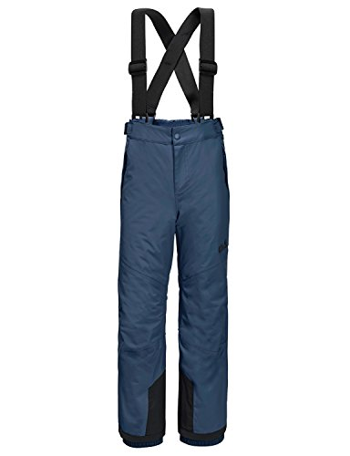 Jack Wolfskin Kinder Snow Ride Pants Kids Hose, Dark Sky, 92 EU