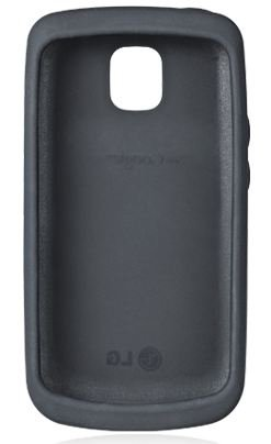LG CCR-220 Optimus ONE P500 Silicone Black