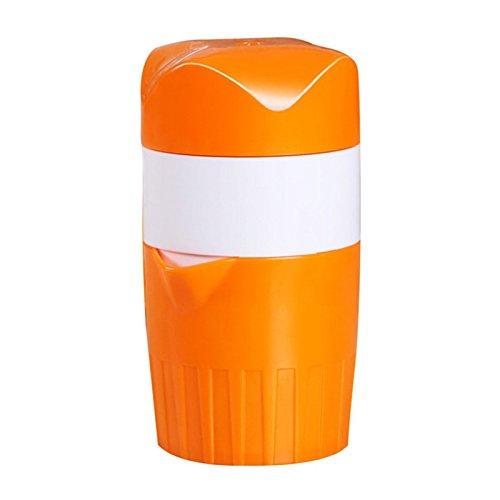 wuudi Tragbare manuelle Zitruspresse Mini Saftpresse Hand Zitrone Orange Zitruspresse Big Kapazität Mini Haushaltsgeräte