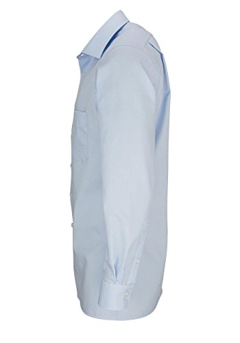 Olymp Camicia a maniche lunghe Modern Fit con colletto New Kent Hellblau