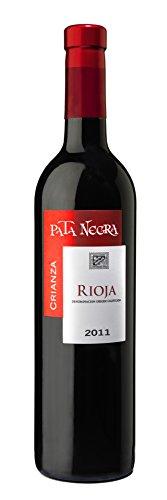 Pata Negra - Vino Tinto Rioja Crianza - Pack De 3 Botellas De 0,75 L