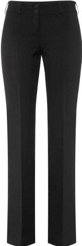 GREIFF Damen-Hose Anzug-Hose SERVICE CLASSIC - Style 8321 - (fällt eine Nummer kleiner aus) - schwarz - Größe: 42 (Anzüge Für Frauen)
