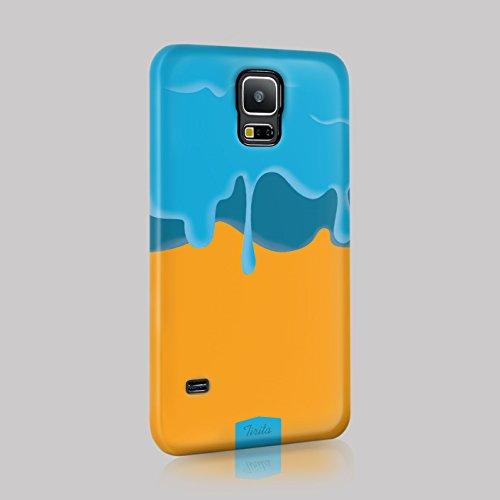 tirita Case Cover Hard Kunststoff trendige Fashion Cute Design Drip Ice Lolly Eingetaucht Goo, plastik, 04, Samsung Galaxy S4 mini -