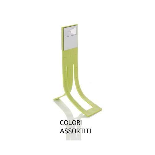 Brandani 56424 Segnalibro modellabile con luce, silicone, colori assortiti