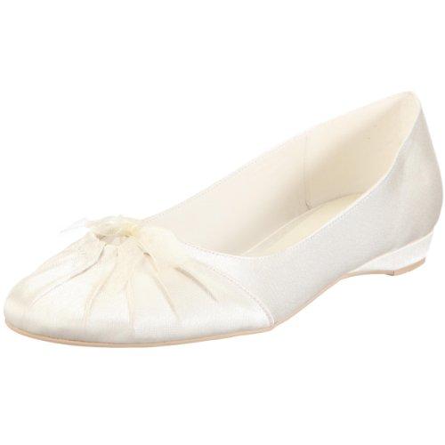 Menbur 034010a04, ballerine da sposa, avorio (elfenbein (ivory)), 37