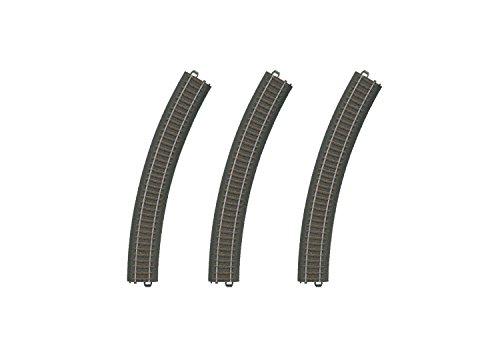Preisvergleich Produktbild Märklin Gleis gebogen (R3 / 30°; Inhalt: 3 x 24330), Verpackung sortiert