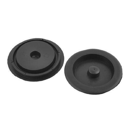 kitchen-garbage-disposal-sink-stopper-flange-35-inch-dia-2-pcs-black