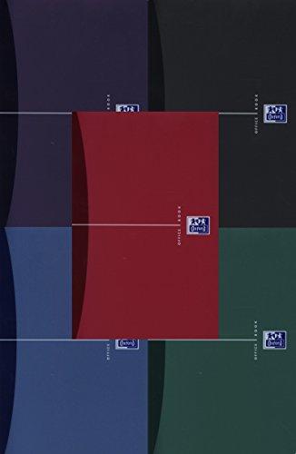 Hamelin Papierbrands 353002402 Spiralbuch Oxford Office, Optik Paper 90 g/qm, A5,5mm kariert, 90