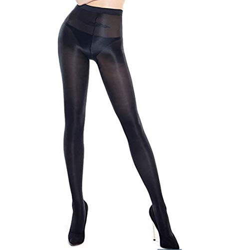 Ulalaza Damen gl/änzende /Öl Strumpfhosen Strumpfhosen Socken Ultra schimmernd Shaping Dance Plus Size Footed 70D 60D 100D