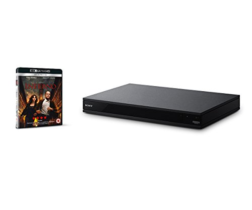 Sony UBP-X800 4K Ultra HD Blu-Ray Disc Player with High-Resolution Audio and Hi-Fi Quality - Black