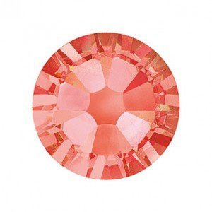 Cristal Swarovski Elements (Padparadscha (542) strass – Petit Paquet – 1,8 mm SS5) Lot de 60