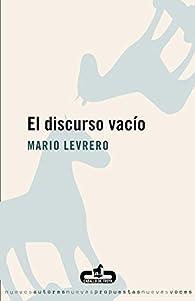El discurso vacío par Mario Levrero
