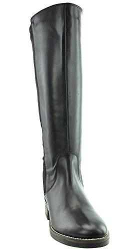 JJ Footwear Damen Stiefel Leder/str.text Brewood XL Schwarz Glove