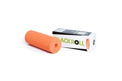 BLACKROLL® MINI Faszienrolle  - das Original. Die kleine Selbstmassage-Rolle für die Faszien in orange