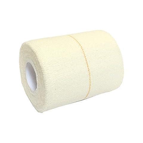 1rouleau de bandage Adhésif Élastique 7,5cm x 4,5m qualicare Pro