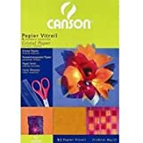 CANSON Papier vitrail, feuilles A4, 210 x 297 mm, 40 g/m2