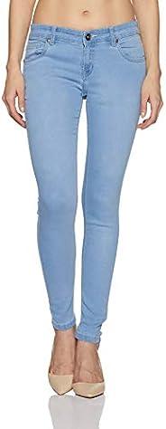 Old Coast Women's Slim Fit Mid Rise Jeans (B