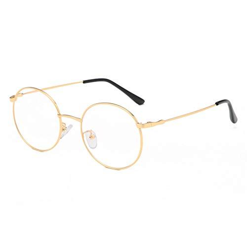 Qmber Sonnenbrille Nerdbrille Nerd Retro Look Brille Pilotenbrille Vintage Look verschiedene Modelle Viele Farben/A