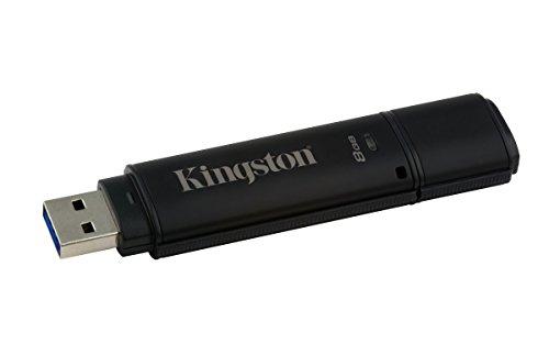 Kingston DT 4000 G2 Verschlüsselte USB-Stick 3.0 mit FIPS 140-2 Level 3 Validierung – Standard 8GB