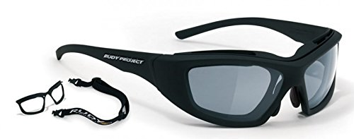 Rudy Project - GUARDYAN SN 16, Sport, acciaio, uomo, MATTE BLACK/IMPACTX2 PHOTOCHROMIC BLACK cat.1-3(73 06), 62/16/127