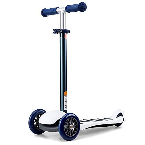 Little Kids Micro 3-Rad-Scooter – Mini Deluxe Tilt & Turn Balancing Kick Scooter -3 Höhenverstellbar Und Abnehmbar, Für Alter 3-5 Jungen/Mädchen/Kinder