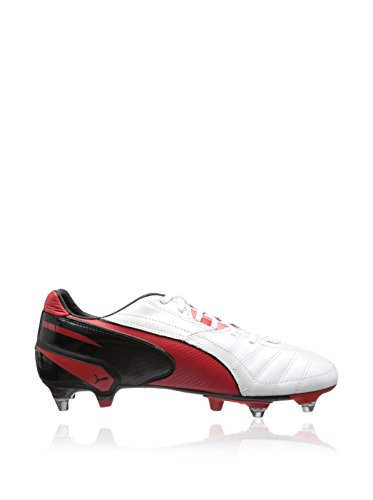 Puma  King Mixed SG, Chaussures de football homme Rouge - Red