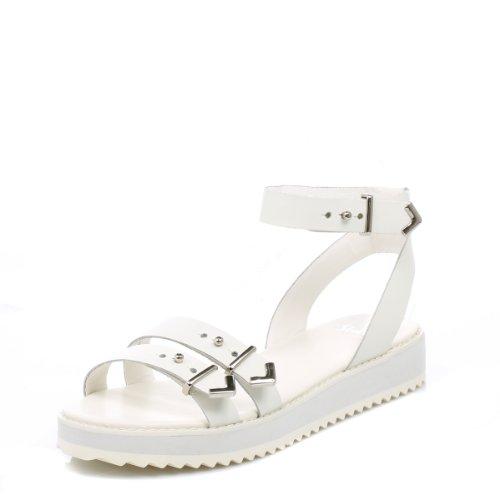 Shellys Donna bianco Portneuf sandali-UK 6