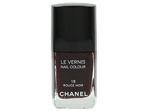 Chanel le Vernis Nagellack 18 - rot/schwarz - Damen, 1er Pack (1 x 13 ml)
