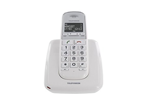Telefunken TD 301 PILLOW - Teléfono Inalámbrico Td 301 Pillow