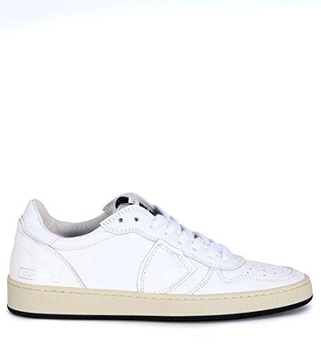 Philippe Model Sneakers Lakers Leder Weiss Weiß