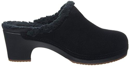 Crocs Sarah Lined Clog, Sabots Femme Noir (Black)