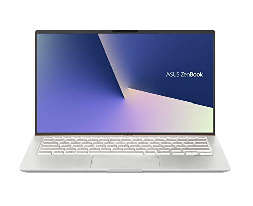 ASUS ZenBook 14 UX433FA-A6111T 14-inch FHD Thin and Light Laptop (8th Gen Intel Core i7-8565U/8GB RAM/512GB PCIe SSD/Windows 10/Integrated Graphics/1.19 Kg), Icicle Silver Metal