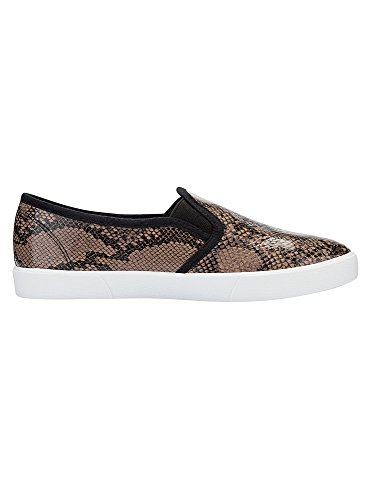 oodji Ultra Donna Slip on Stampati in Ecopelle Marrone (3729A)