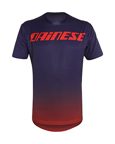 Dainese Herren T-shirt Driftec rot - Midnight Purple/Red