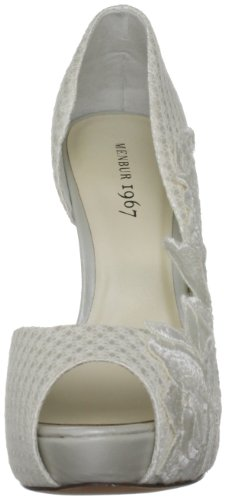 Menbur Wedding Mariana 4867 Damen Pumps Elfenbein (ivory 04)