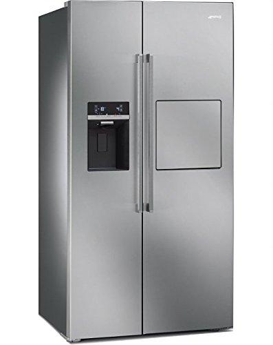 Smeg Standkühlschrank mit Gefrierfach Side by Side SBS63XEDH - Ss-side-by-side Kühlschrank
